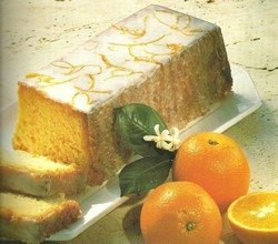 Budin de naranja