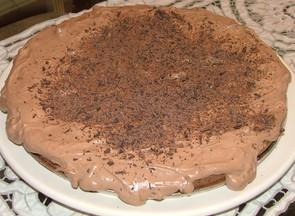 torta de choc. y mousse