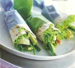 Wraps con Zucchini