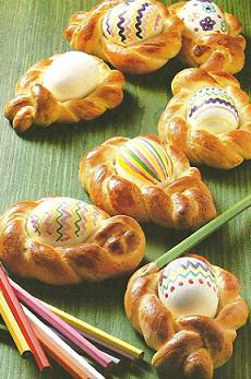 Rosquitas con huevos