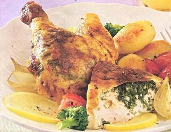 Pollo a Sabor del Campo