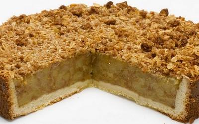tarta de pastelera y manzana