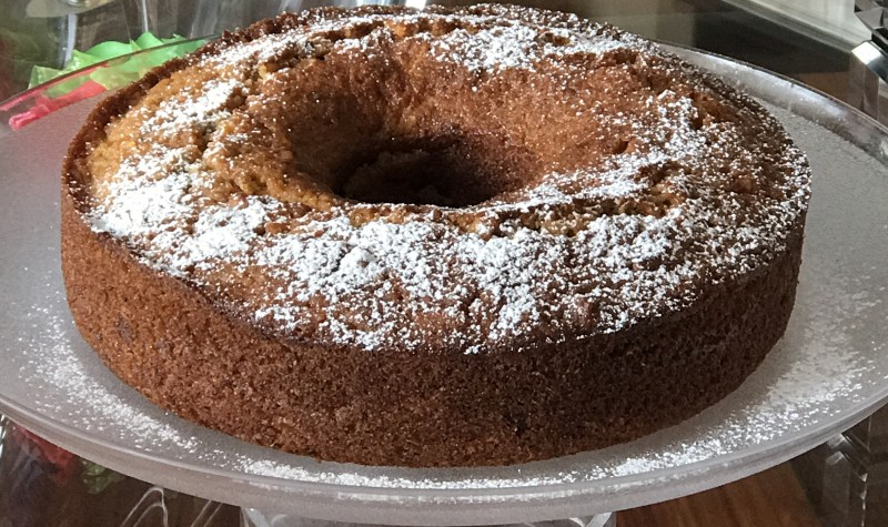 torta de Zanahoria-Nuez y Manzana