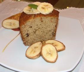 Budín de Bananas y Nuez